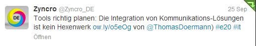 zyncro1-Twitter _ Interaktionen